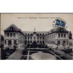 28 - Dreux - Hôpital Hospice - Bâtiment Principal - Chirurgie-Médecine - Vo...