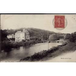 28 - Moulin de St-Vigor - Voyagé - Dos divisé...