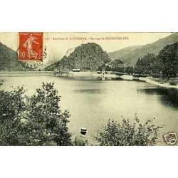 42 - Env. de St-Etienne - Barrage de Rochetaillee