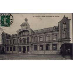 28 - Dreux - Ecoles Communales des Garçons - Voyagé - Dos divisé...