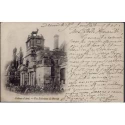 28 - Environs de Dreux - Château d' Anet - Vue extérieure du portail  - Voy...