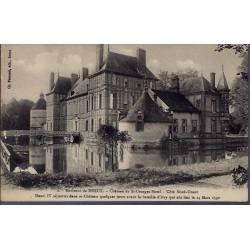 28 - Environs de Dreux - Château de St-Georges Motel - Côté Nord-Ouest - No...