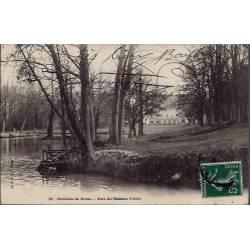 28 - Environs de Dreux - Parc du château d' Anet - Voyagé - Dos non divisé...