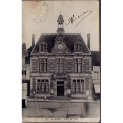 28 - La Loupe - Hôtel de Ville - Voyagé - Dos divisé...