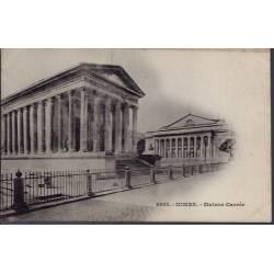 30 - Nîmes - maison carrée - Non voyagé - Dos non divisé...