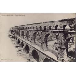 30 - Nîmes - Pont du Gard - Non voyagé - Dos non divisé...