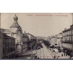 30 - Nîmes - Boulevard Victor-Hugo - Nouveau lycée - Non voyagé - Dos divis...