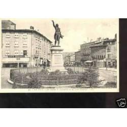 43 -LE PUY - LA STATUE DE LAFAYETTE ET LA TOUR PANESSAC