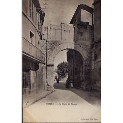 30 - Nîmes - La porte de France - Non voyagé - Dos divisé...
