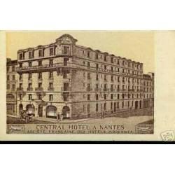 44 - CENTRAL HOTEL A NANTES - ANIMEE