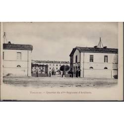 31 - Toulouse - Quartier du 23eme Régiment d' Artillerie - Non voyagé - Dos...