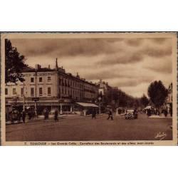 31 - Toulouse - Les grands cafés - Carrefour des boulevards et des allées J...