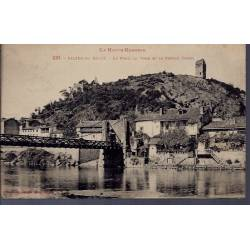 31 - Salies-du-Salat - le pont - la tour et la vieille église - Voyagé - Do...