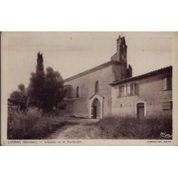 31 - Layrac - Eglise et le Presbytère - Non voyagé - Dos divisé...