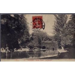 31 - Toulouse - Jardin Royal - le bassin - Voyagé - Dos divisé...