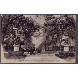 31 - Toulouse - Entrée du jardin du Grand-Rond - Voyagé - Dos divisé...