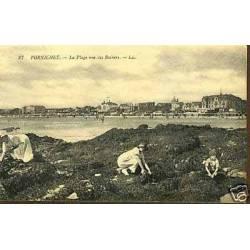 44 - Pornichet - La plage vue des rochers
