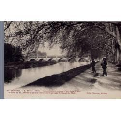 34 - Béziers - La rivière d' Orb - le pont-Canal - Non voyagé - Dos divisé...