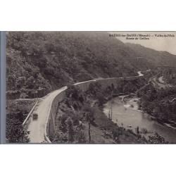 34 - Avène-les-Bains - Vallée de l' Orb - route de Ceilhes - Non voyagé - D...