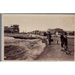 34 - Palavas-les-Flots - Vue prise des jetées - Non voyagé - Dos divisé...