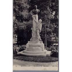 34 - Montpellier - Monument de Planchon - Voyagé - Dos divisé...