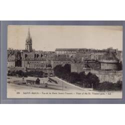 35 - Saint-Malo - Vue de la porte Saint-Vincent - View of the St.Vincent Ga...