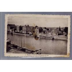 35 - Redon - Vue générale du Port - Voyagé - Dos divisé ...