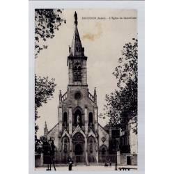 36 - Issoudun - L' église du Sacré-Coeur - Voyagé - Dos divisé...