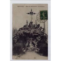 36 - Issoudun - Parc du Sacré-Coeur - le calvaire - Voyagé - Dos divisé...