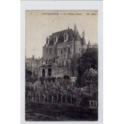 36 - Châteauroux - Le château Raoul - Voyagé - Dos divisé...