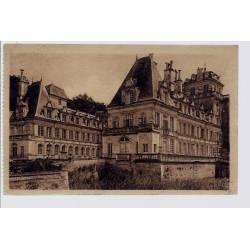 37 - Villandry - Le château côté Nord-Ouest - Bâti en 1332 - restauré et mo...