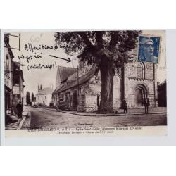 37 - L' Ile-Bouchard - Eglise Saint-Gilles  - très beaux portails - Choeur ...