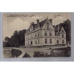 37 - Montlouis-sur-Loire - Château de la Bourdaisière - XIV et XVeme siècle...