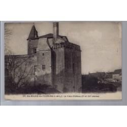 37 - St-Maur-de-Touraine - Le vieux château Xe et XVeme siècles - Voyagé - ...
