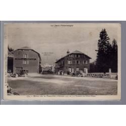 39 - Hôtel de la Faucille et sommet du Mont-Blanc - Voyagé - Dos divisé...