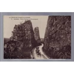 39 - Arbois - Route d' Arbois à Champagnole - Non voyagé - Dos divisé...