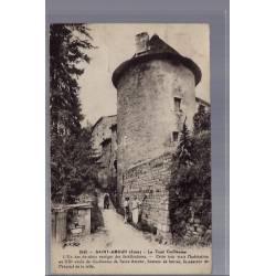 39 - Saint-Amour - La tour Guillaume - Voyagé - Dos divisé...