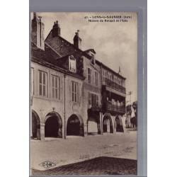 39 - Lons-le-Saunier - Maison de Rouget de l' Isle - Non voyagé - Dos divis...