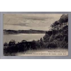 40 - Hossegor - Environs de Capbretons-sur-Mer - Le lac - Voyagé - Dos divi...