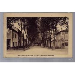 40 - Mont-de-Marsan - Boulevard d' Hausses - Voyagé - Dos divisé...