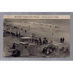 40 - Mimizan-plage - L'après-midi sur la plage - Voyagé - Dos divisé...