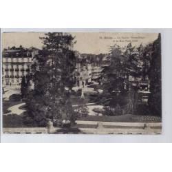 41 - Blois - Le square Victor Hugo et la rue Porte Côté - Voyagé - Dos divi...