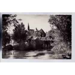41 - Candé-sur-Beuvron - le prieuré et l' église - Voyagé - Dos divisé...