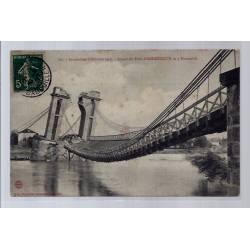 42 - Aspect du pont d' Andrézieux le 5 Novembre - Inondations d'Octobre 190...