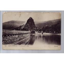 42 - Saint-Etienne - Le barrage - Voyagé - Dos divisé...