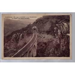 43 - Ligne d' Ambert à la Chaise-Dieu - Le Viaduc et le tunnel du Merle - V...