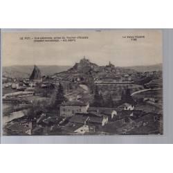 43 - Le Puy - Vue générale - prise du rocher d' Espaly - Non voyagé - Dos d...