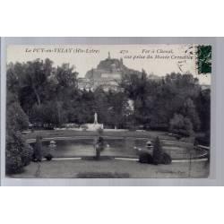 43 - Le Puy-en-Velay - Fer à Cheval vue prise du Musée Crozatier - Voyagé -...