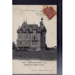 45 - Thou, par Bonny - Château de Linière côté Sud - Voyagé - Dos divisé...