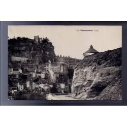 46 - Rocamadour - Vue sur la ville - Non voyagé - Dos divisé...